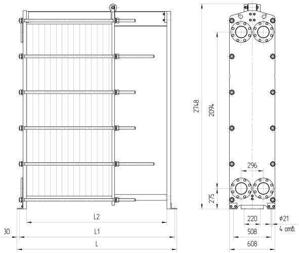 Пластины теплообменника Ридан НН 110 Бузулук Пластинчатый теплообменник для молока Sondex S64 Сарапул