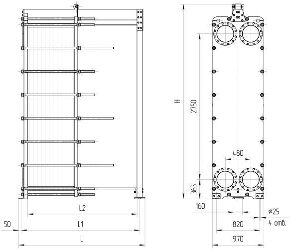 Пластины теплообменника Ридан НН 251 Тамбов Пластины теплообменника Tranter GL-085 P Хасавюрт